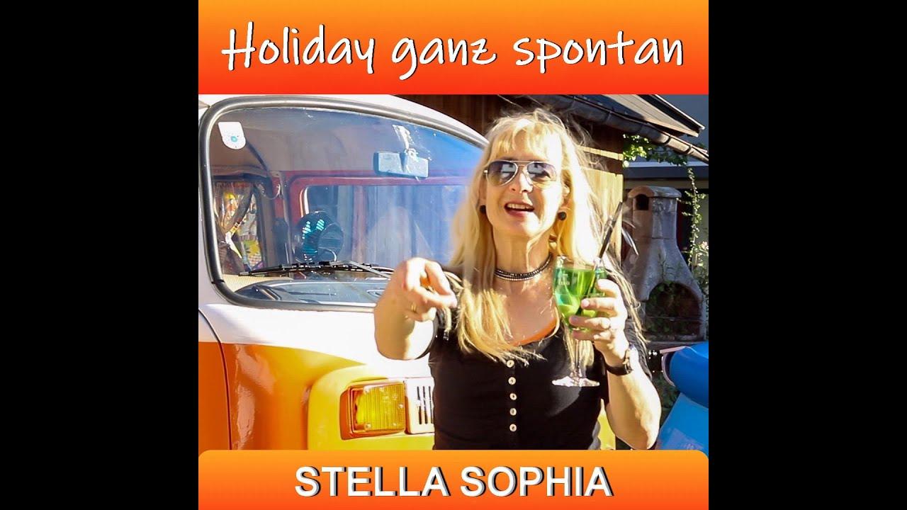 Stella Sophia - Holiday ganz spontan ( offizielles Musikvideo )