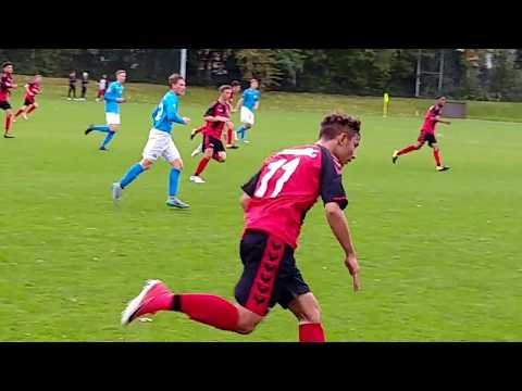 2017 1008 SC Freiburg vs. SGV Freiberg U17 1. HALF