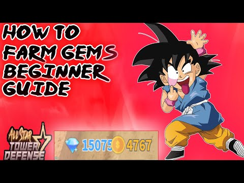 How To Farm Gems -Beginner Guide (All Star Tower Defense)