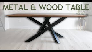How to Make a Modern Dining Table