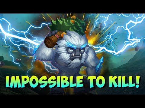Cant KILL Sasquatch! BEAST Castle Clash