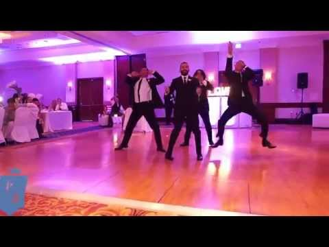 Grooms Men Hiphop Wedding Dance