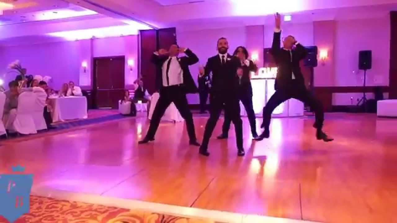 U Tube Wedding Dances.Grooms Men Hiphop Wedding Dance