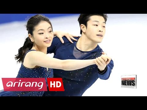 Skating stars Alex & Maia Shibutani visit Korea as U.S. sports envoys