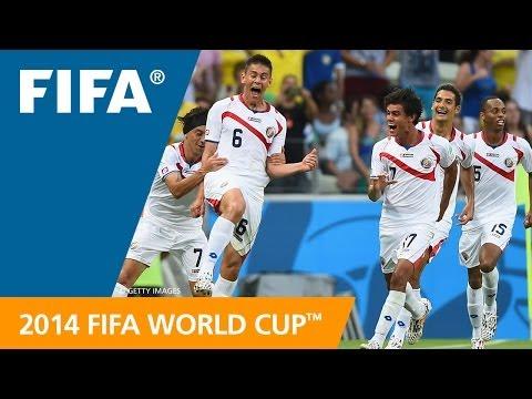 FWC 2014 - Uruguay V Costa Rica - International Sign Highlights