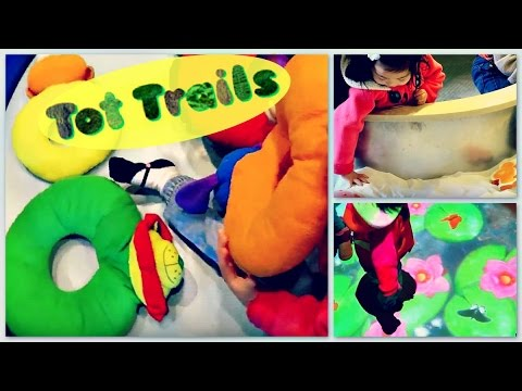 """TOT TRAILS"" at PORT DISCOVERY CHILDREN'S MUSEUM in BALTIMORE, MD"