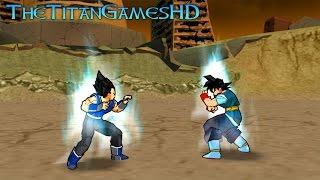 Dragon Ball Z Shin Budokai 2 Mods - Vegeta Absalon Vs Goku Absalon