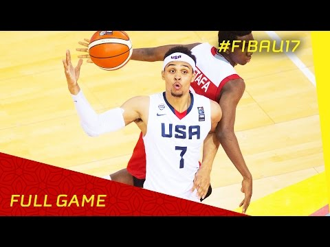 USA v Turkey - Final - Full Game - FIBA U17 World Championsh