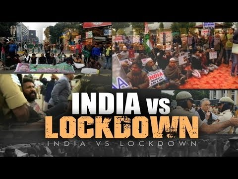 India vs Lockdown. Protesters Detained, Internet Cut Off In Parts