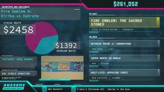 Fire Emblem the Sacred Stones by Kirbymastah in 1:16:27 AGDQ 2018