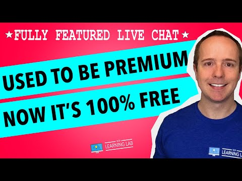 How To Add Live Chat To WordPress Free - Best FREE Live Chat Service For Websites