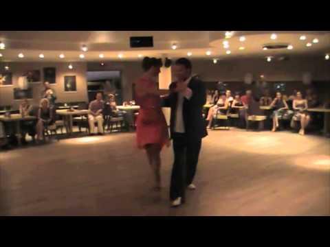 Damian Thompson and Oliwia Otto, Sopot Poland - 3