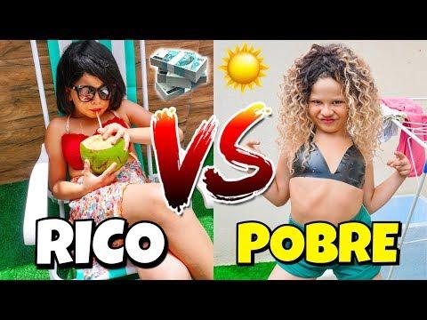 RICO VS POBRE NO CALOR - Isaac do VINE