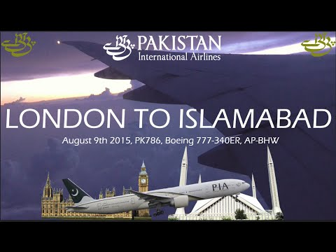 ✈FLIGHT REPORT✈ PIA Pakistan International Airlines, London
