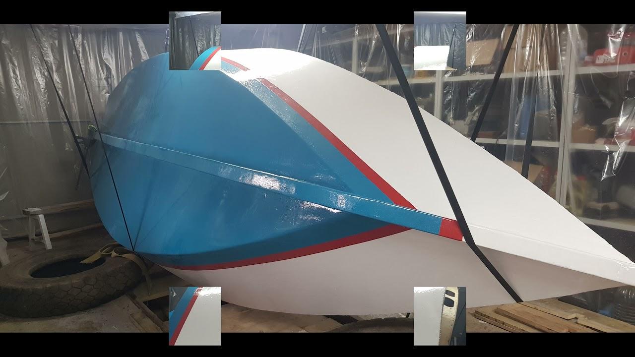 Постройка парусной яхты Weekender - YouTube