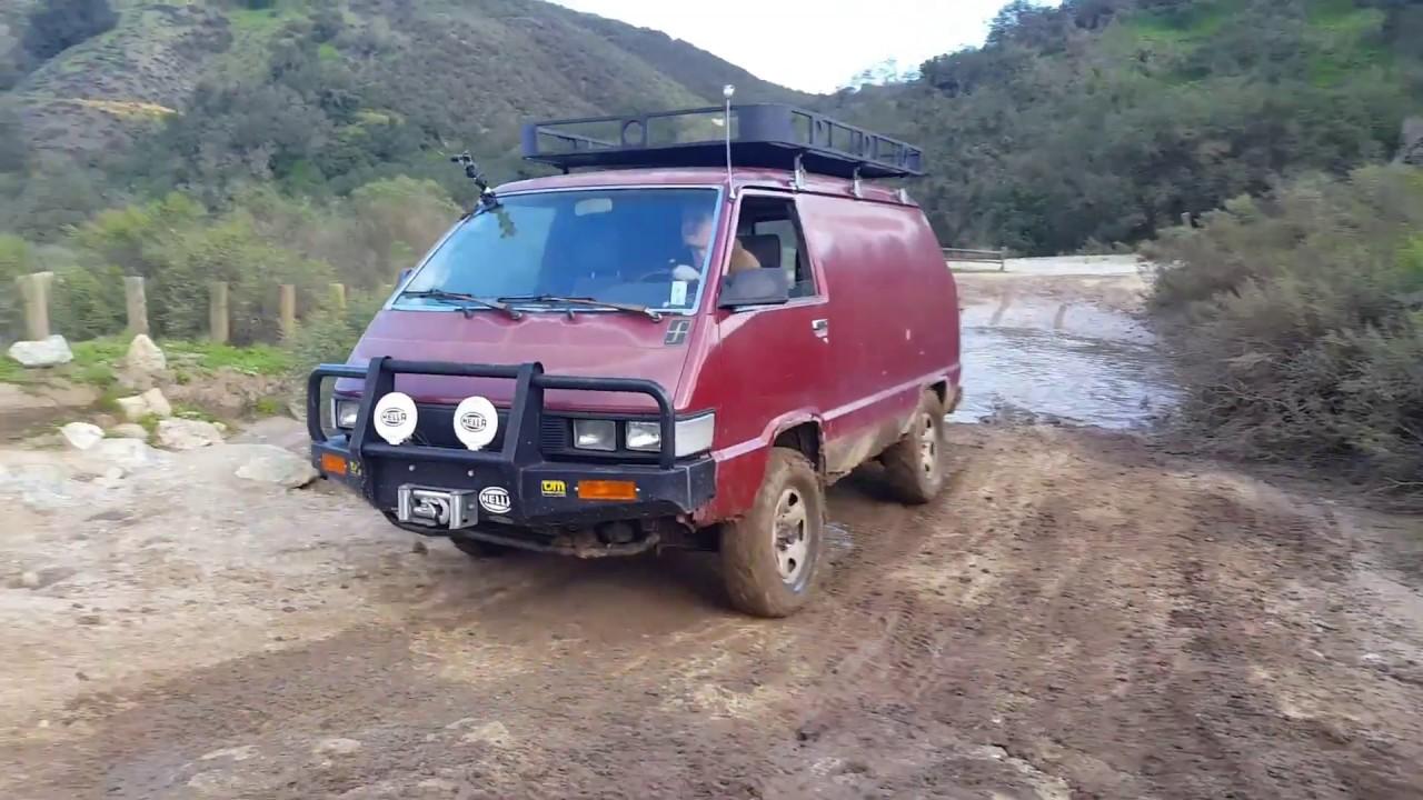 Toyota Van 4x4 Car Design Today
