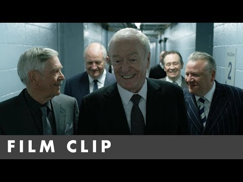 KING OF THIEVES     Starring Michael Caine and Jim Broadbent