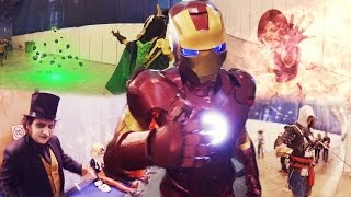 First Person Cosplay: Heroes and Villains