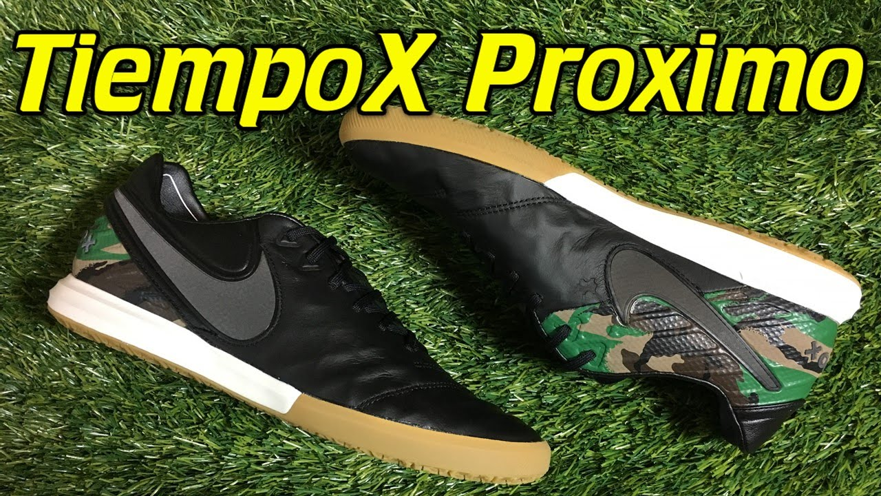 d6d8aabc13b274 Nike TiempoX Proximo Indoor Camo Pack - Review + On Feet - YouTube
