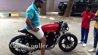 Pulsar 200 Cafe Racer- India