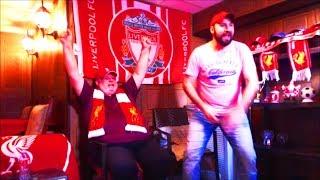 MOHAMED SALAH SCORES #30!!!! LFC FAN REACTIONS!!!! LIVERPOOL BEATS BOURNEMOUTH 3-0!!!