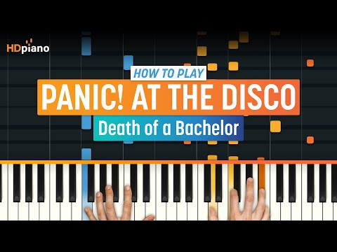 """How To Play """"Death of a Bachelor (Acoustic)"""" by Panic at The Disco   HDpiano (Part 1) Piano Tutorial"""