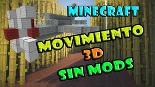 MCedit Tutorial Avanzado [Filtros] Ep3: Movimiento 3d sin mods en minecraft | Spawners