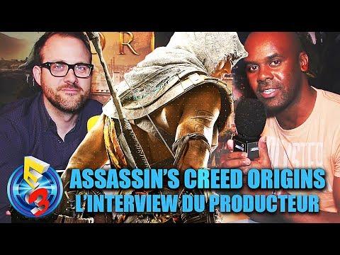 ASSASSIN'S CREED ORIGINS : le Producteur du jeu nous dit TOUT !