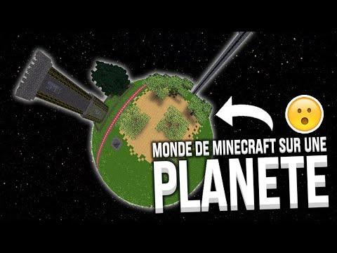 ET SI LE MONDE DE MINECRAFT ÉTAIT UNE PLANÈTE ?! thumbnail