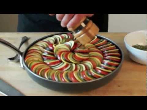 Ratatouille Casserole - Bruno Albouze - THE REAL DEAL