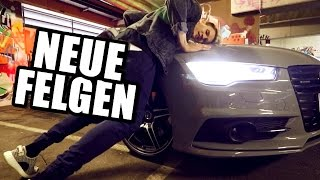 Mein Audi A7 mit neuen Felgen !   Ksfreakwhatelse