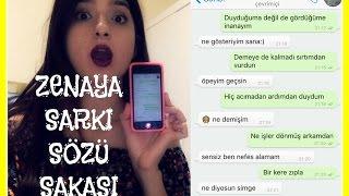 Zena'ya Şarkı Sözü Şakası, Ece Seçkin - Adeyyo | Simsim