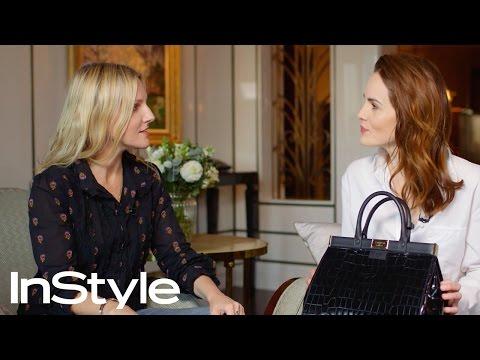 What's Inside Michelle Dockery's Handbag??