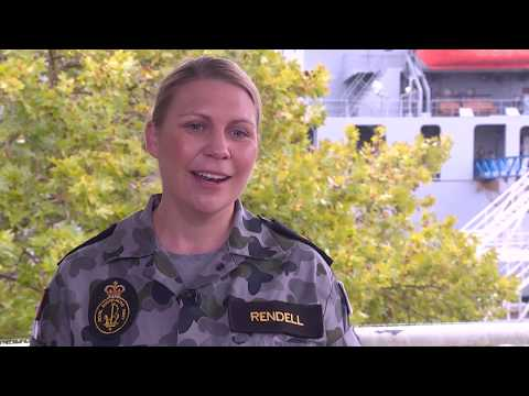 Navy Career - LS Belinda Rendell