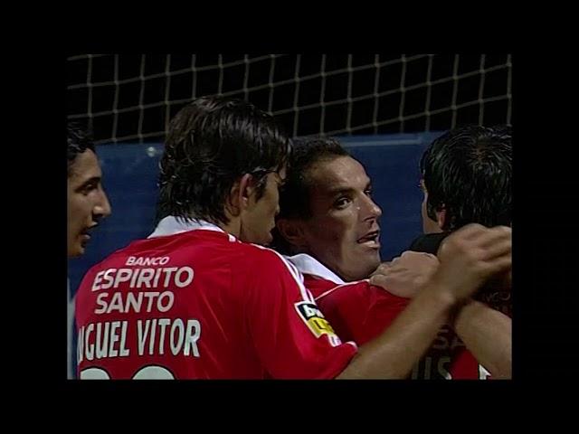 Goal | Golo Rui Costa: CD Nacional 0-(2) Benfica (Liga 07/08 #3)