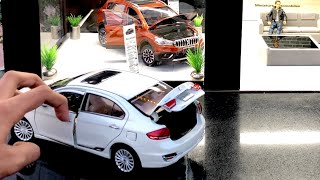 Mini Maruti Suzuki Nexa Showroom | Diecast Cars | Ciaz | S-Cross | Giveaway | Suzuki Merchandise
