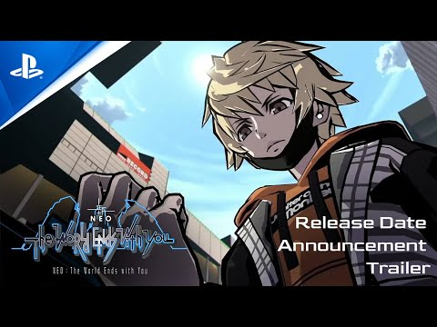 Neo: The World Ends with You - Release Date Announcement Trailer   PS4