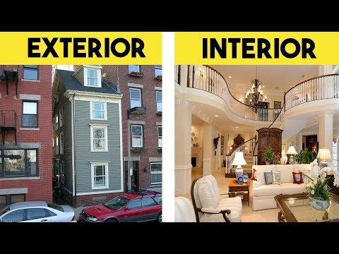 10 Casas Mas Angostas Pero Con Interiores Inimaginables