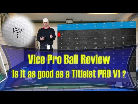 Vice Golf Ball Review, as good as a Titleist Pro V1?
