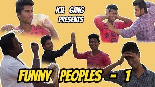 FUNNY PEOPLE - 1 || BY SIDDIPET KTL GANG || TELUGU COMEDY VEDIO