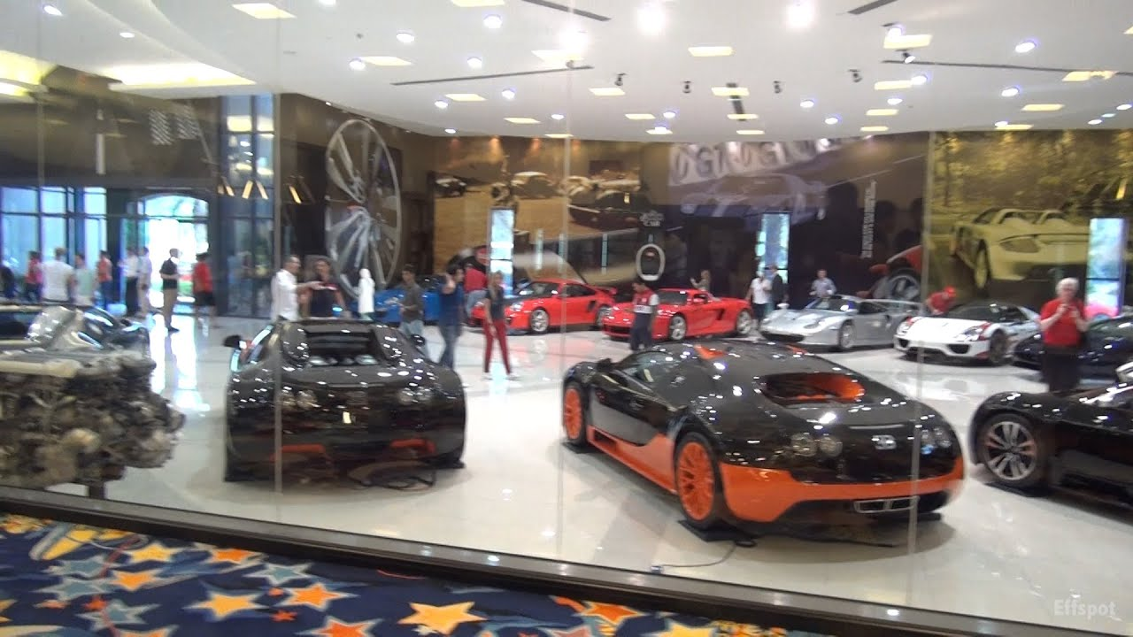 $50+ Million Car Collection w/ Indoor Bowling Alley, Swimming Pool ...