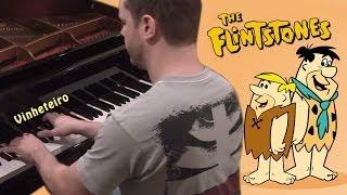 Música dos Flintstones no piano