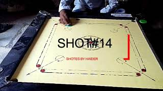 Amazing carrom shotes by haider mulla