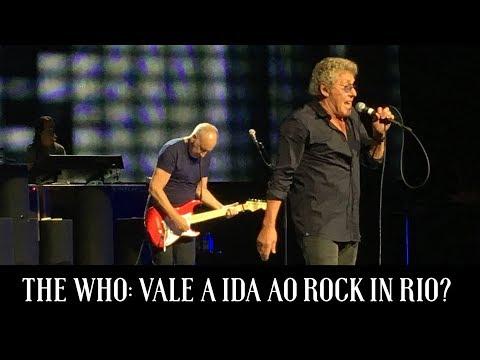The Who: Vale a ida ao Rock in Rio?   Papo Reto   Alta Fidelidade