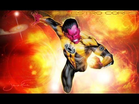 The Ballad of Thaal Sinestro The Fallen and New Warrior