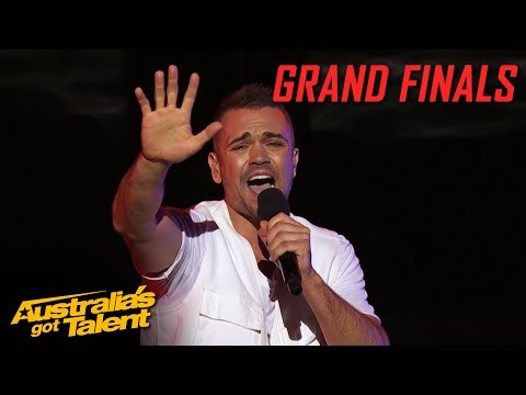 Mitch Tambo AMAZES with his Original Song   Grand Final   Australia's Got Talent