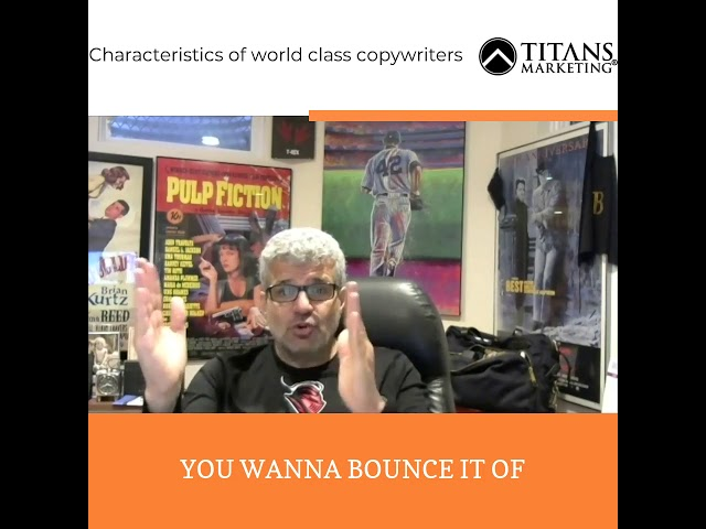 7 characteristics of the world best copywriter
