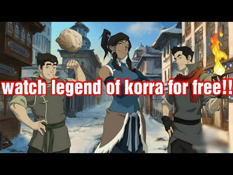 HOW TO WATCH THE LEGEND OF KORRA FOR FREE IN 2020!!