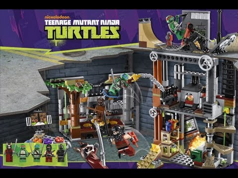 lego 2013 turtles tortues ninja youtube. Black Bedroom Furniture Sets. Home Design Ideas