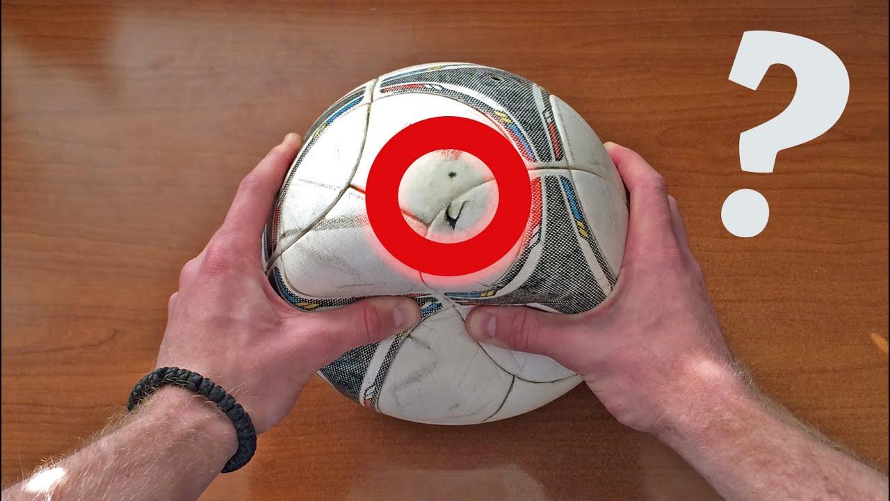 Lifehack. How to fix soccer ball - Как отремонтировать мяч - YouTube